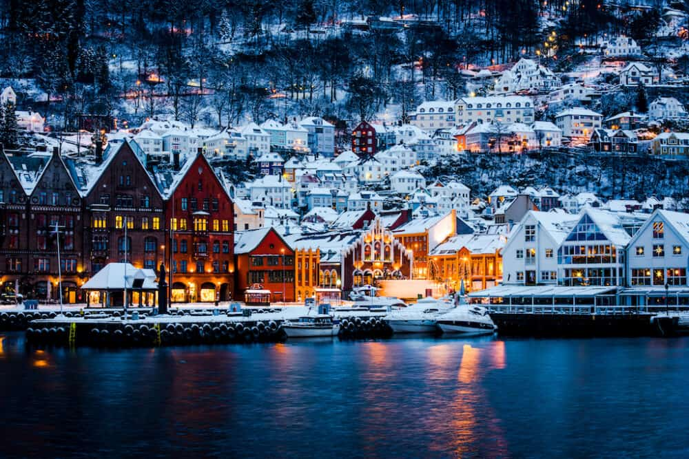 Bergen - Bergen - the beautiful Norway town which inspired the Frozen film