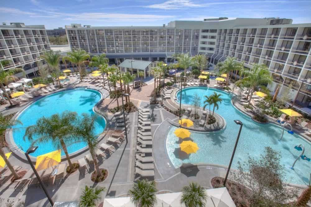 Delta Hotels Orlando Lake Buena Vista - a large but relaxed hotel very near Disney World