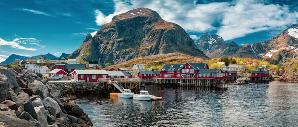 Lofoten Islands - the famously beautiful Norway islands