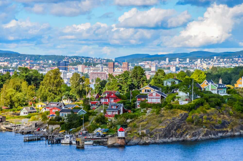 Oslo - beautiful capital of Norway