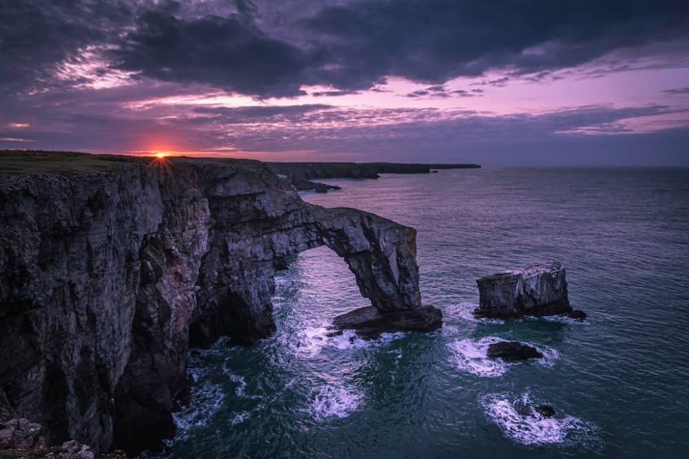 Pembrokeshire Coast - places to go in Wales