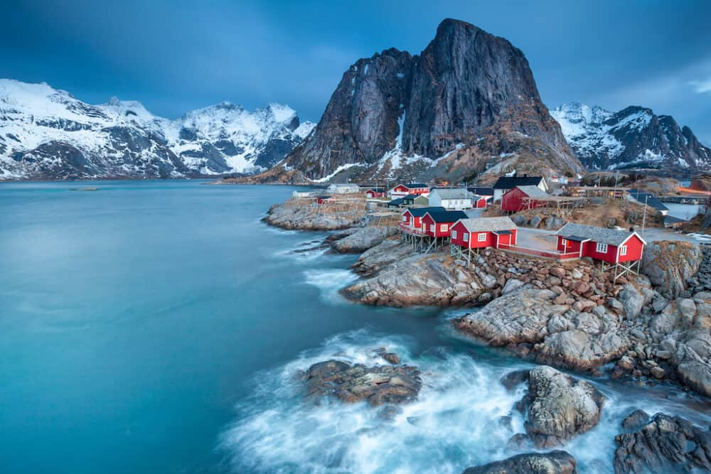 Reine - a picturesque fishing village in Norway