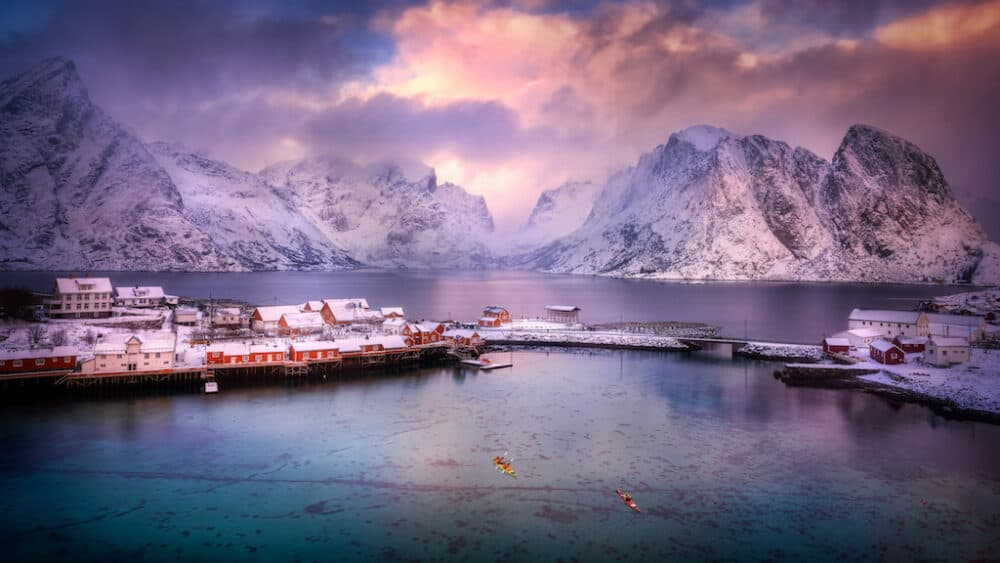 Reine - a beautifully picturesque fishing village in Norway