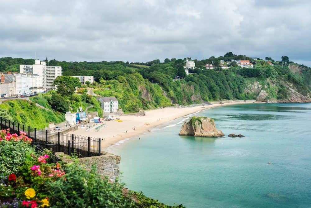 Tenby Beach - beautiful places to go in Wales