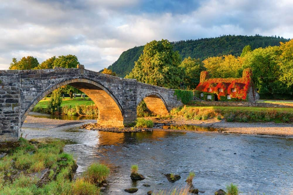 llanrwst Wales - a beautiful place to visit in Wales