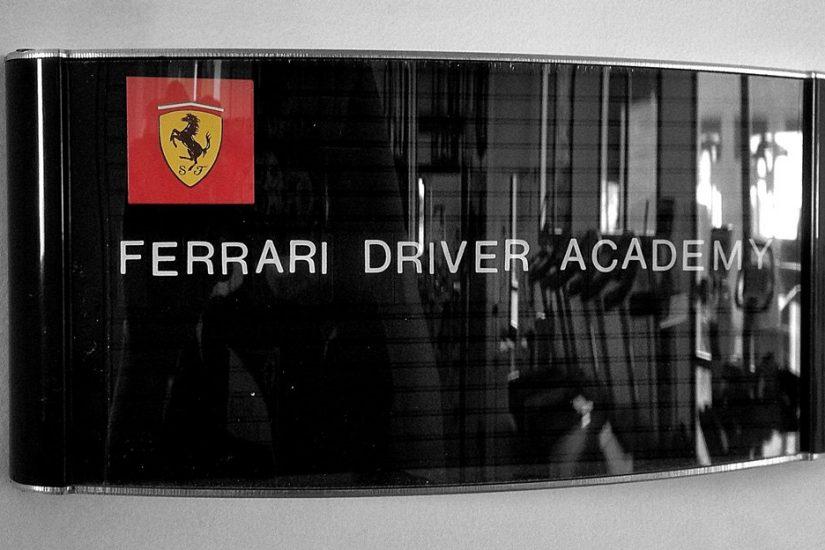 Ferrari Driver Academy Sign