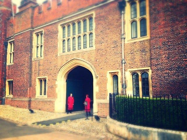 Hampton Court side entrance