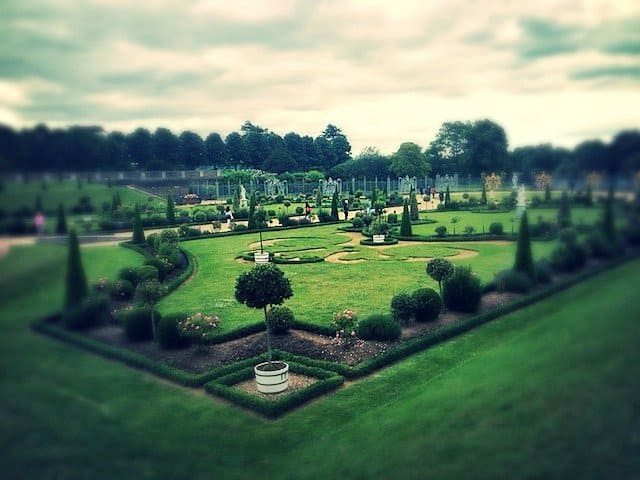 Pretty Hampton Court