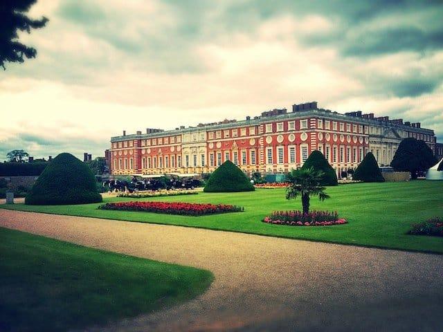 Summer at Hampton Court