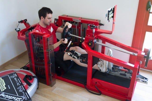 Technogym's F1 training machine