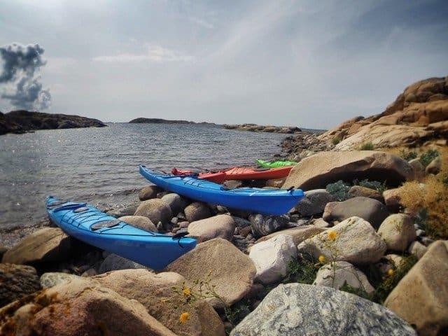 Learning to Sea Kayak on the West Swedish Coast Global Grasshopper