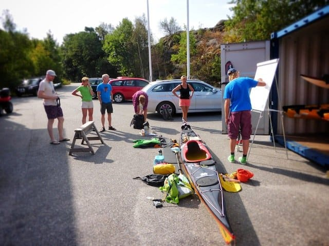 Sea Kayaking School