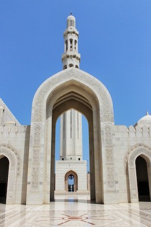 Outside Grand Mosque
