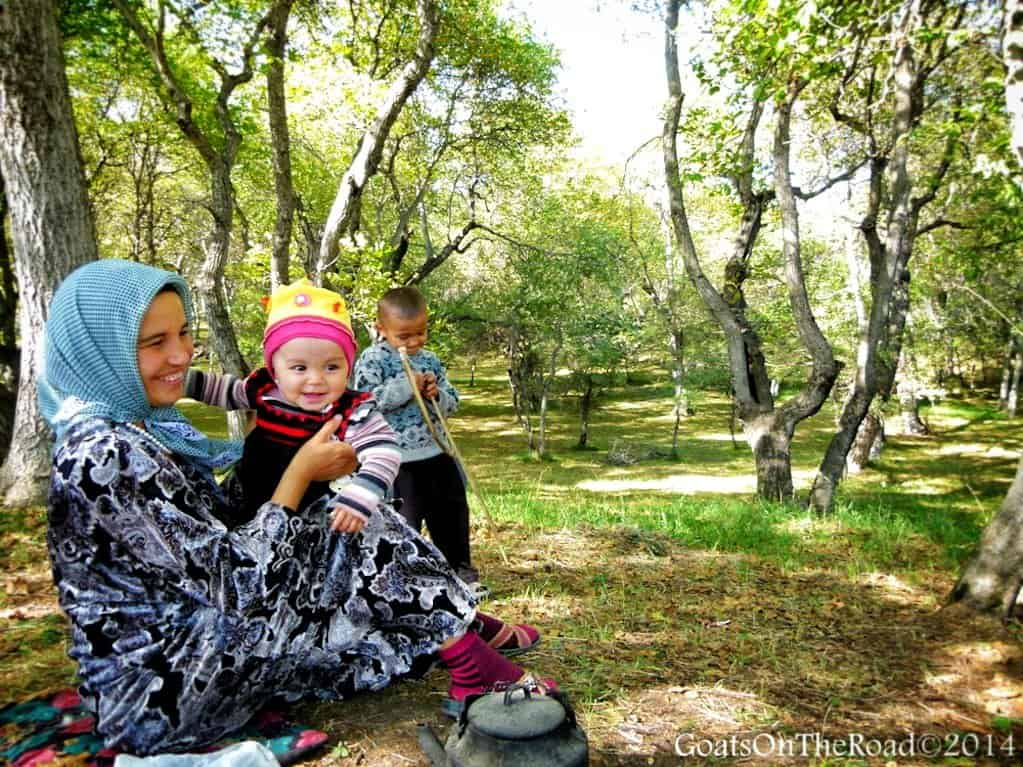 family in walnut grove kyrgyzstan