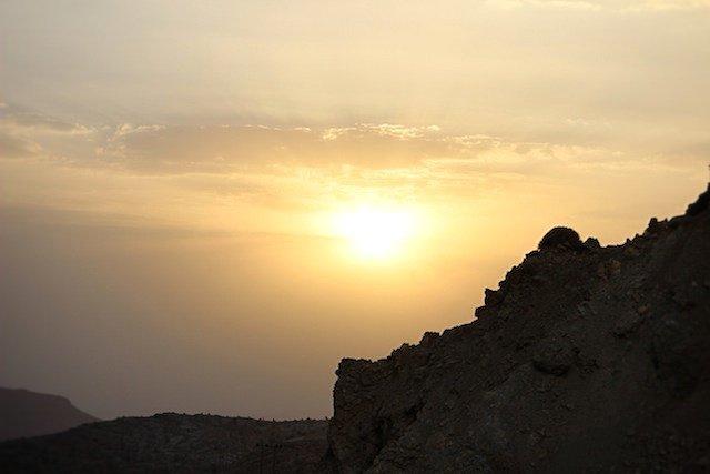 sunset near grand canyon