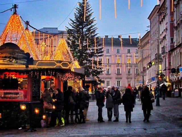 Christmas in Linz, Austria Global Grasshopper