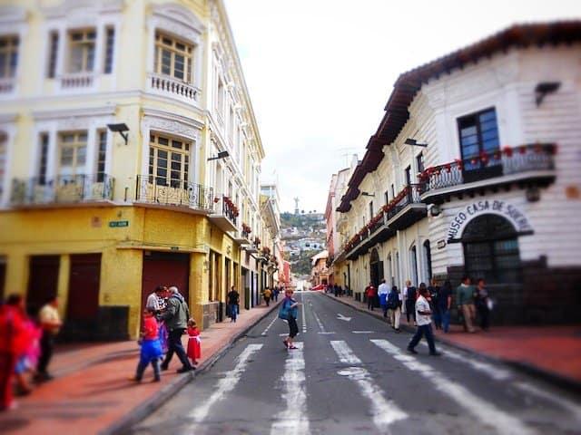 Quito buildings