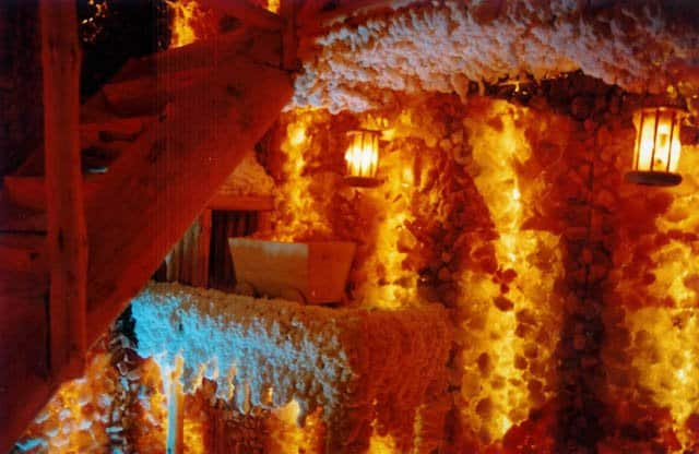 Salt spa cave