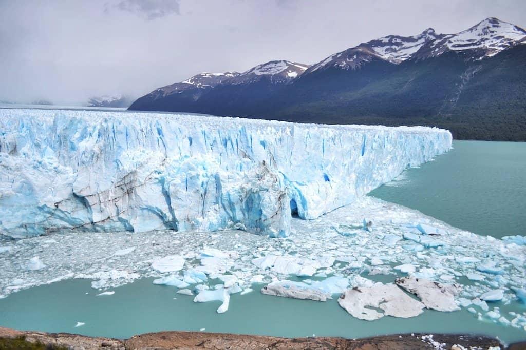 The Perito Moreno Glacier, Argentina