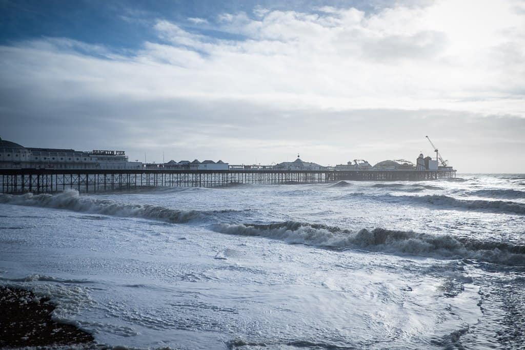 In BIG Pictures: a stormy day in Brighton, England Global Grasshopper