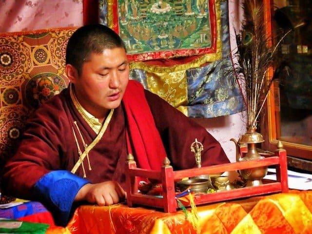 Mongolia Monk