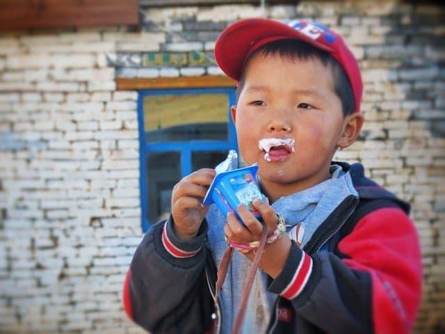 Mongolia boy