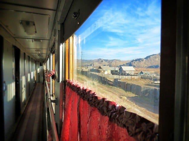 Tran-Mongolian Railway ride