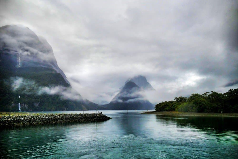 Milford Sound fjords New Zealand
