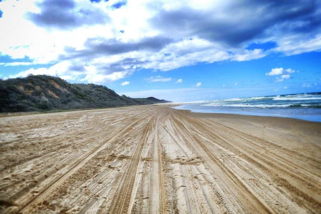 Beach Fraser Island