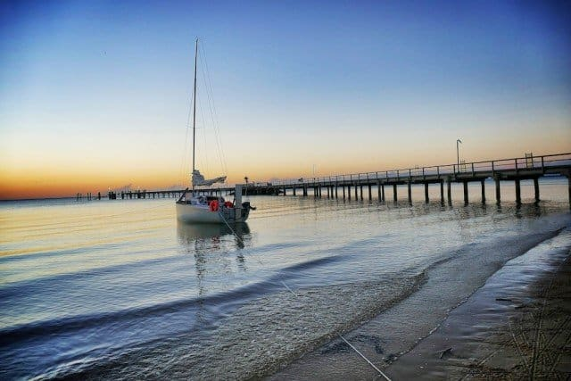 Boat-at-Kingfisher-Bay-Fraser-Island1