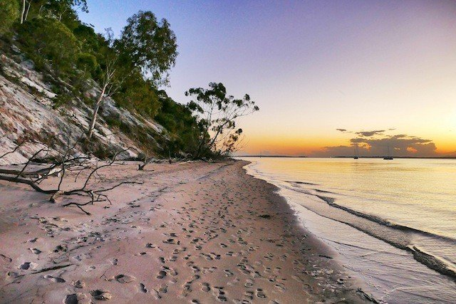 Fraser-Island-Sunset