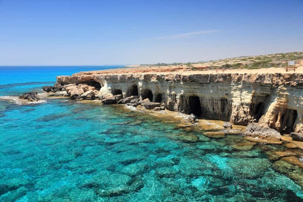 Cape Greco - attractions in Cyprus