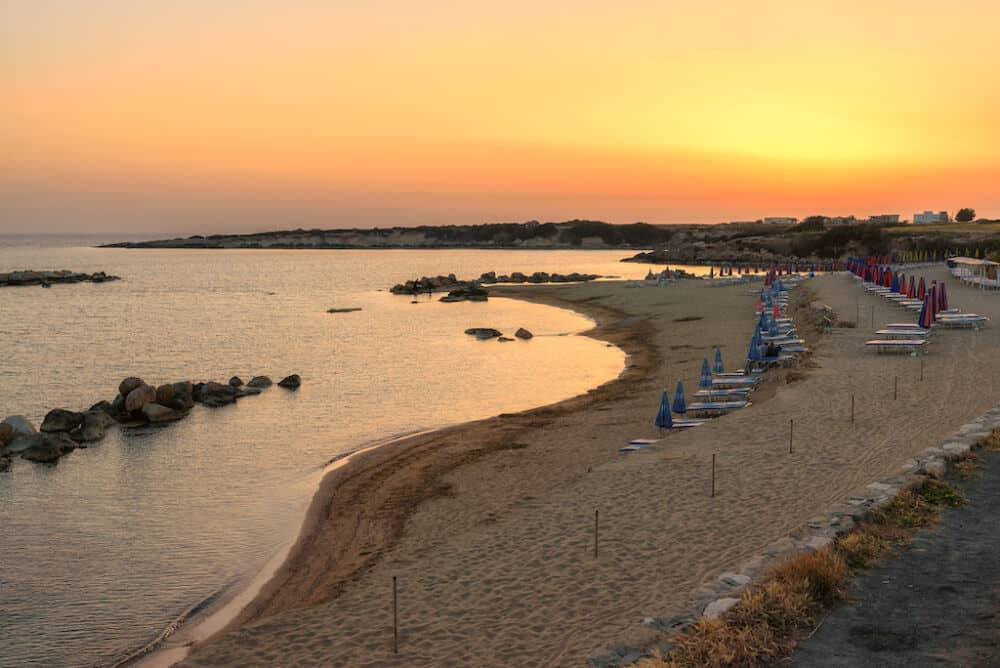 Coral Bay - best beaches in Cyprus