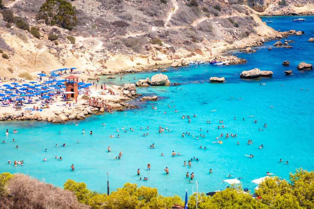 Konnos Beach Cyprus