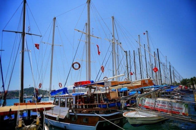 Boats of Bodrum
