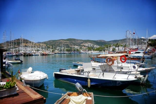 Bodrum holiday resort in Turkey