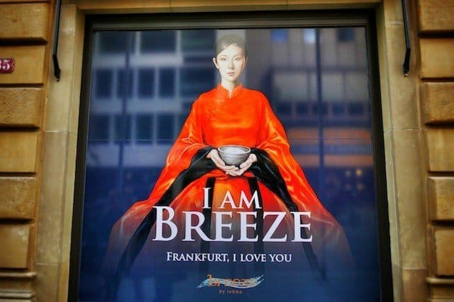 A night out at Breeze by Lebua - Frankfurt's newest luxury restaurant Global Grasshopper