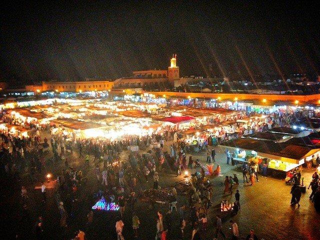 Medina at night