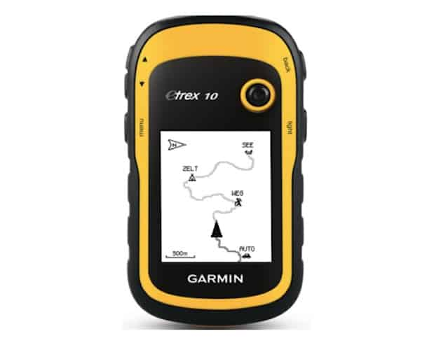 Garman hand held GPS
