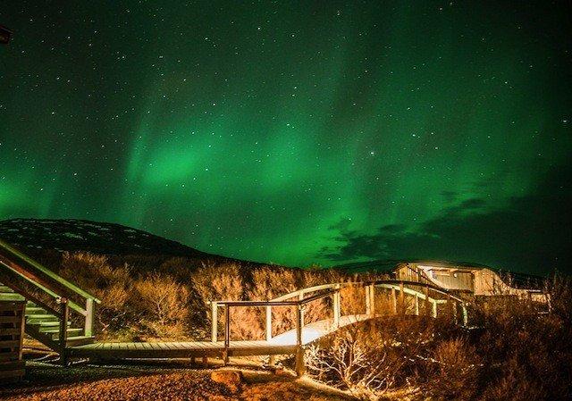 Hotel Glymur Nothern Lights