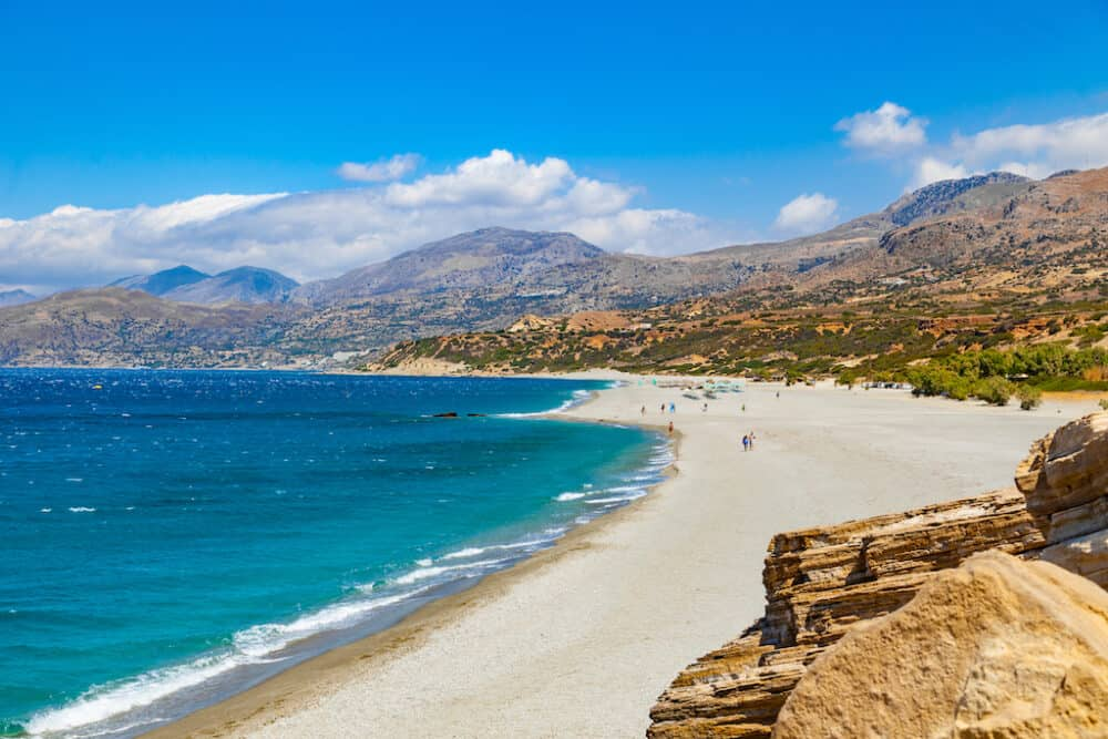 Triopetra Beach - places to visit in Crete
