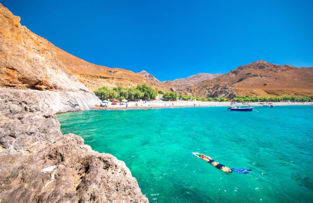 Tripiti Coastline Crete