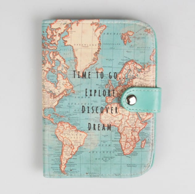 Vintage-Map-Passport-Cover