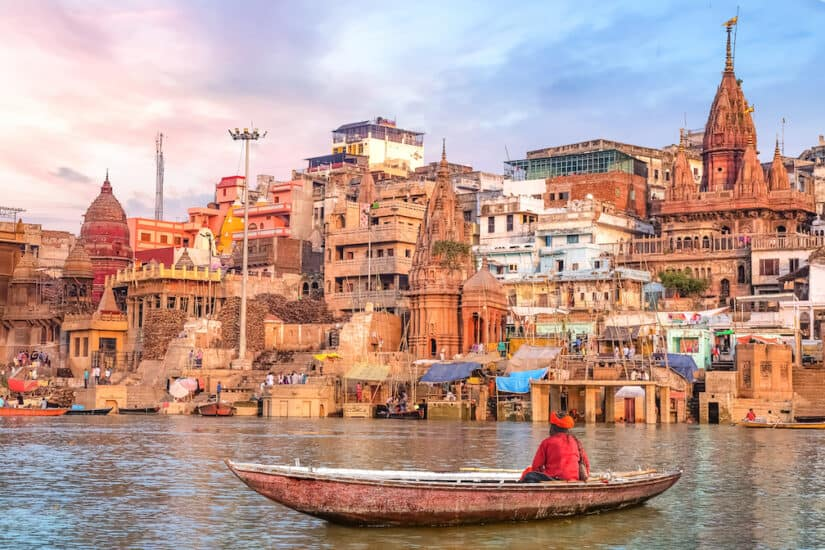 Varanasi India - off the beaten track in India