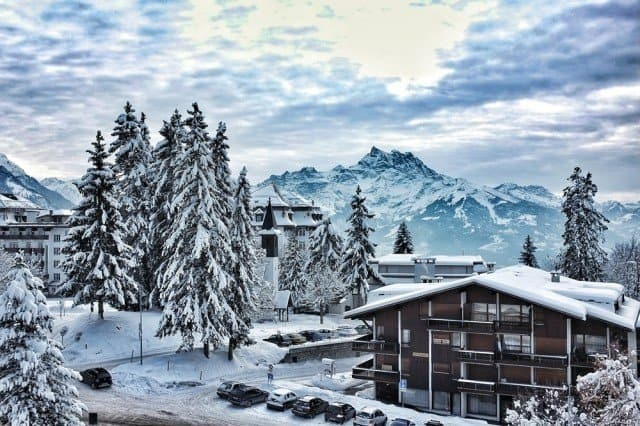 Villars, Switzerland - magical Christmas destinations in Europe