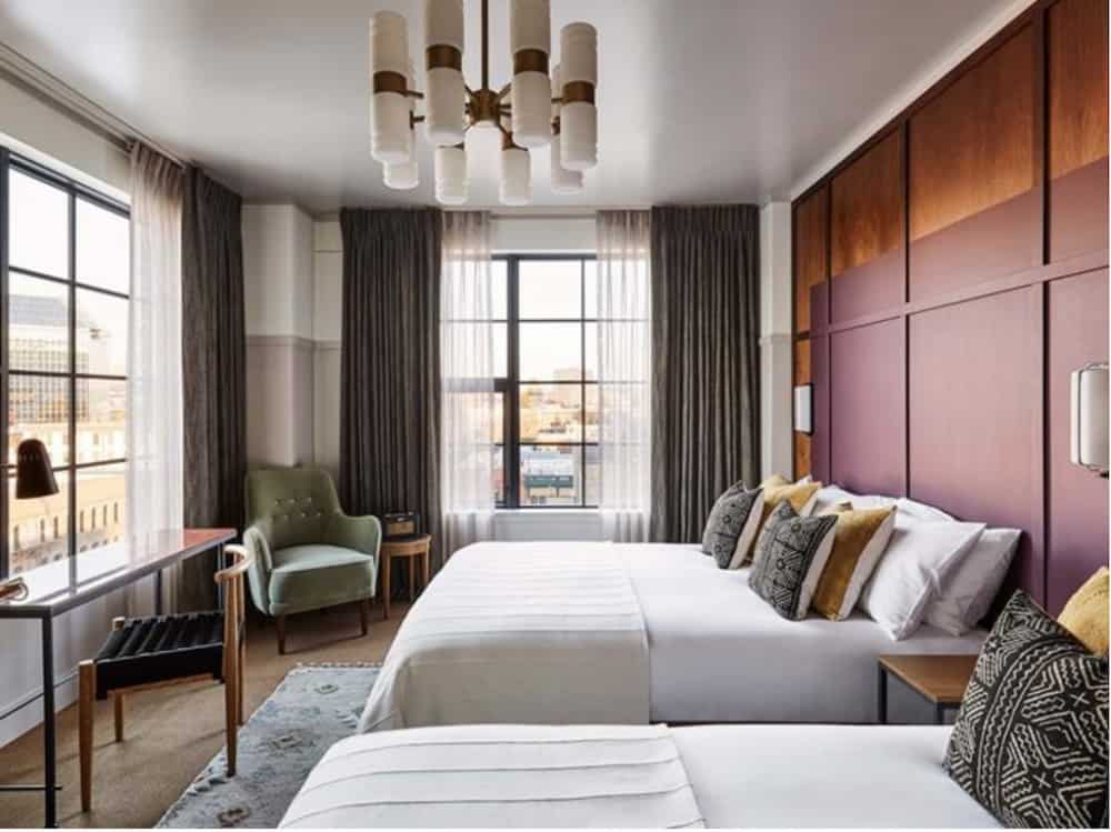A trendy boutique hotel in Portland