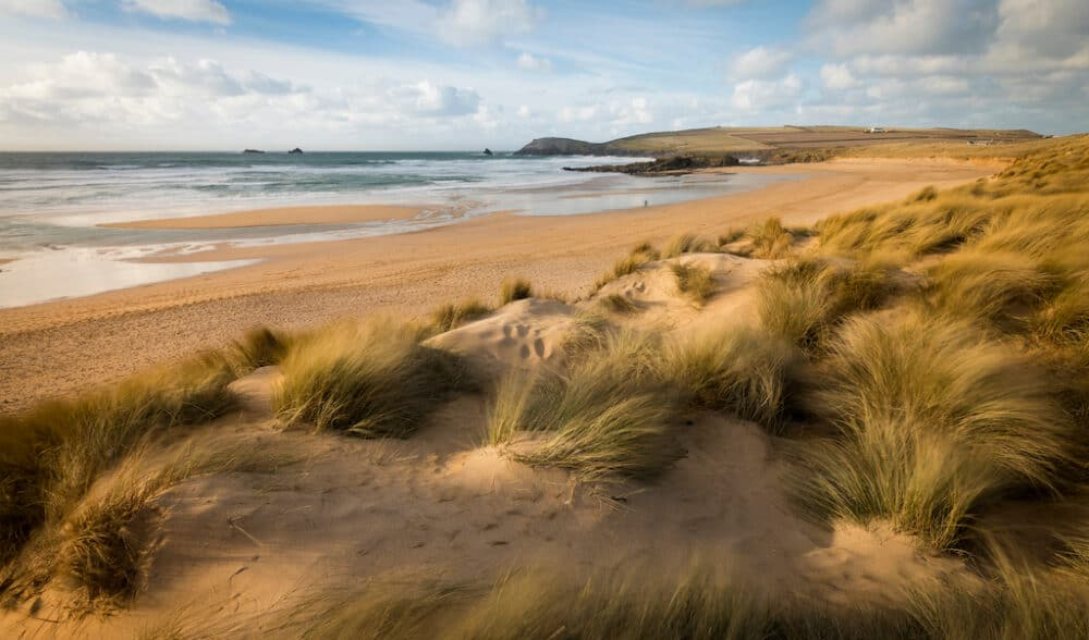 Constantine Bay - beautiful places to visit in Cornwall