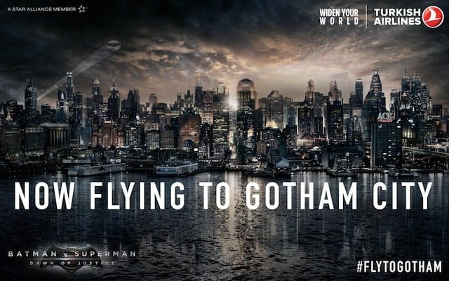 Gotham City Turkish Airlines