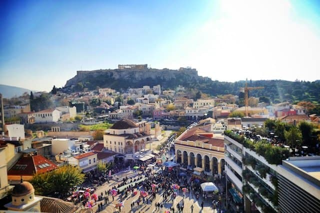 Rooftops Athens