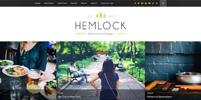Hemlock WordPress Theme